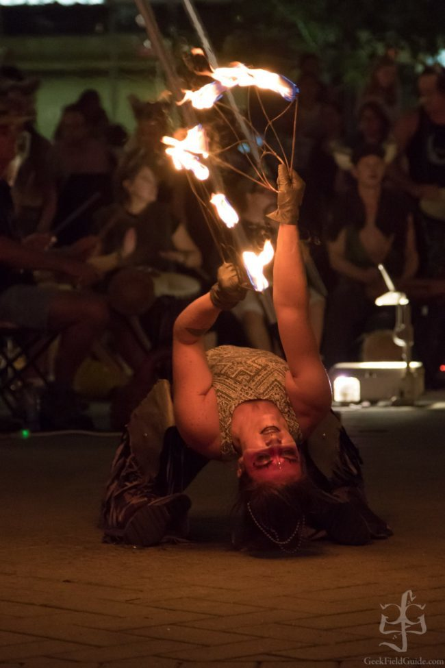 Robin | Tribal | Fire Performer | Fans| Imagine Circus | Cirque | Raleigh, NC
