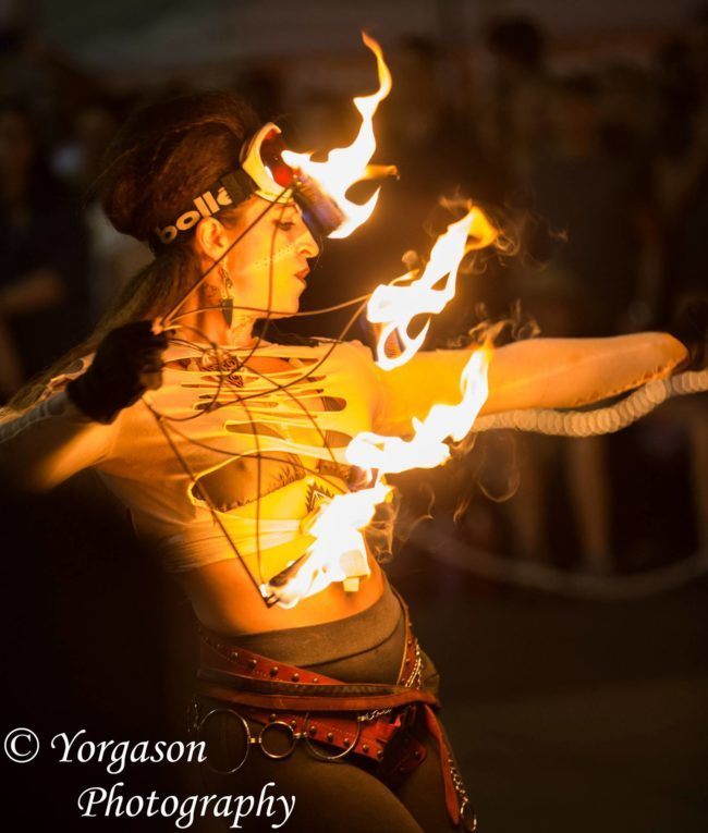 Robin | Steam Punk | Victorian | Fire Performance | Fire Fans | Imagine Circus | Cirque | Raleigh, NC