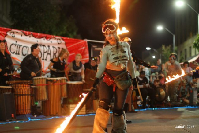 Robin | Steam Punk | Victorian | Fire Performance | Fire Sword | Imagine Circus | Cirque | Raleigh, NC