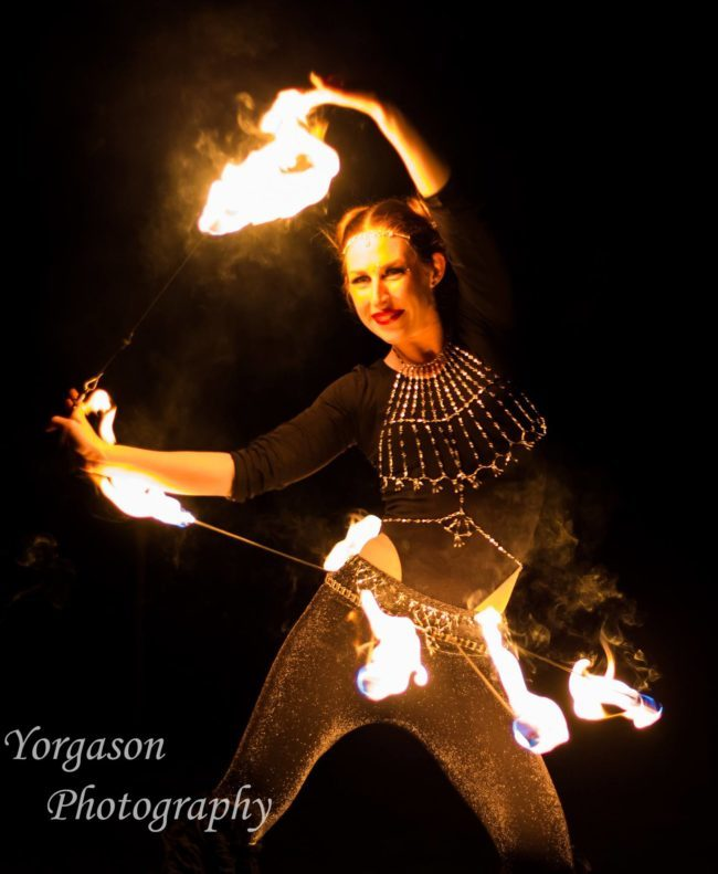 Adrenaline| Fire Dancer | Fire Belt | Performer | Imagine Circus | Cirque | Raleigh, NC