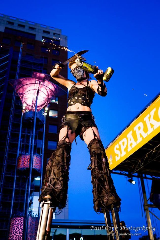 Adrenaline | Steam Punk | Stilt Walker | Imagine Circus | Cirque | Raleigh, NC