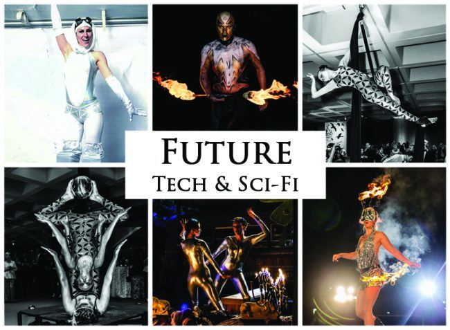 Future, Tech & Sci-Fi | Imagine Circus | Themes | Cirque | Raleigh, NC
