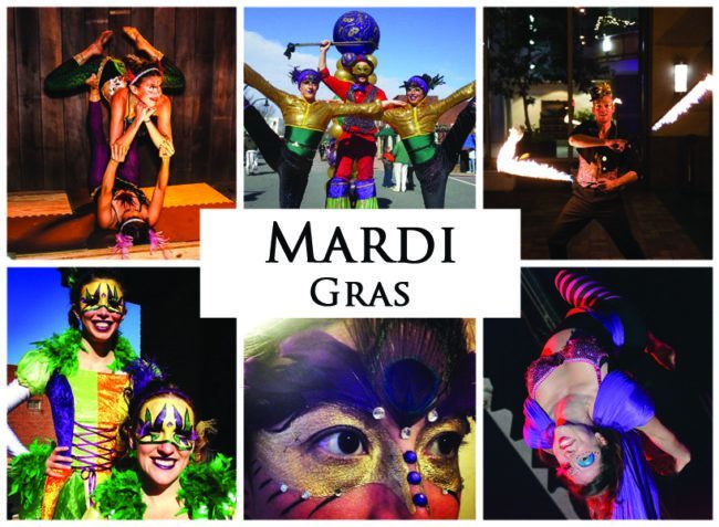 Mardi Gras | Imagine Circus | Themes | Cirque | Raleigh, NC