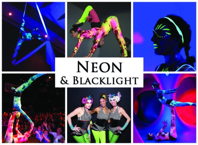 Neon Glow & Blacklight | Imagine Circus |Themes