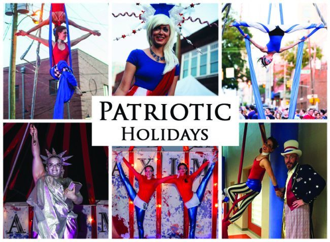 Patriotic Holidays | Imagine Circus | Themes | Cirque | Raleigh, NC