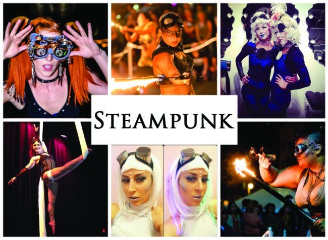 Steampunk | Imagine Circus | Themes | Cirque | Raleigh, NC