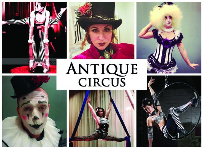 Antique Circus | Imagine Circus | Themes | Cirque | Raleigh, NC