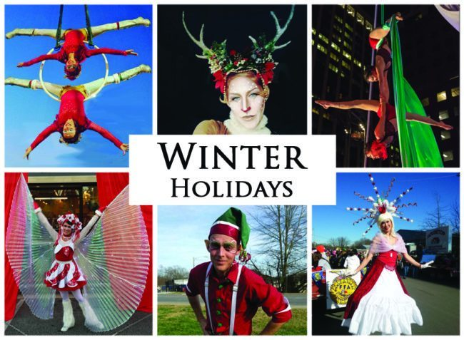 Winter Holidays | Imagine Circus | Themes | Cirque | Raleigh, NC