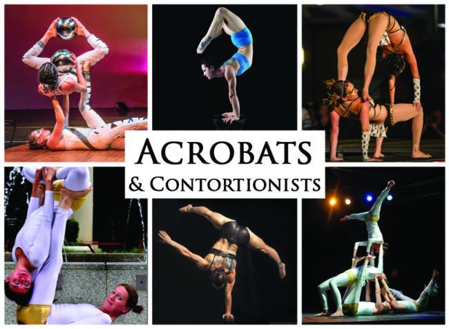 Acrobats & Contortionists | Imagine Circus | Acts | Cirque | Raleigh, NC