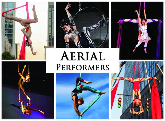 Aerial Performers | Imagine Circus | Acts | Cirque | Raleigh, NC
