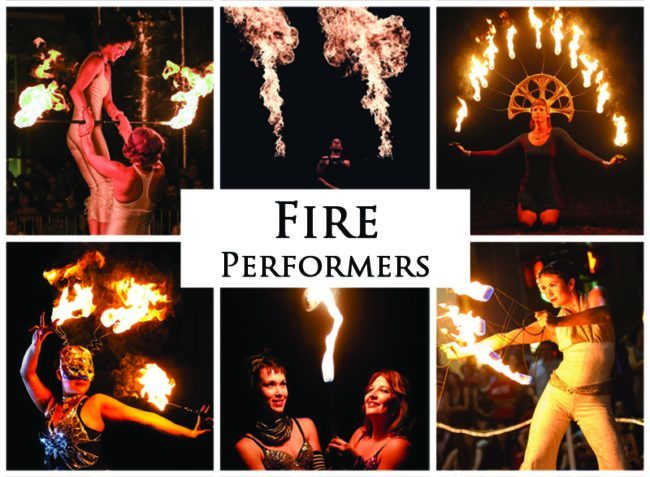 Fire Performers | Imagine Circus | Acts | Cirque | Raleigh, NC