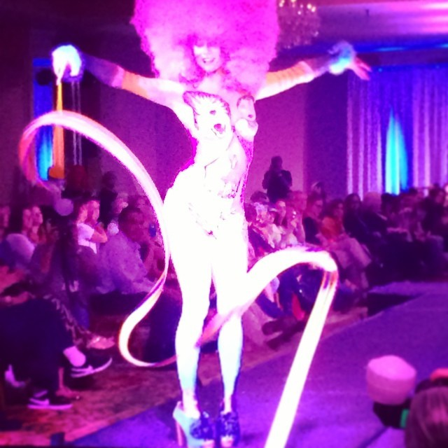 Mindy | Body Painted | Living Canvas | Body Art | Performer | Imagine Circus | Cirque | Raleigh, NC