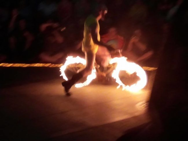 Thunder | Fire Bike | Performer | Imagine Circus | Cirque | Raleigh, NC