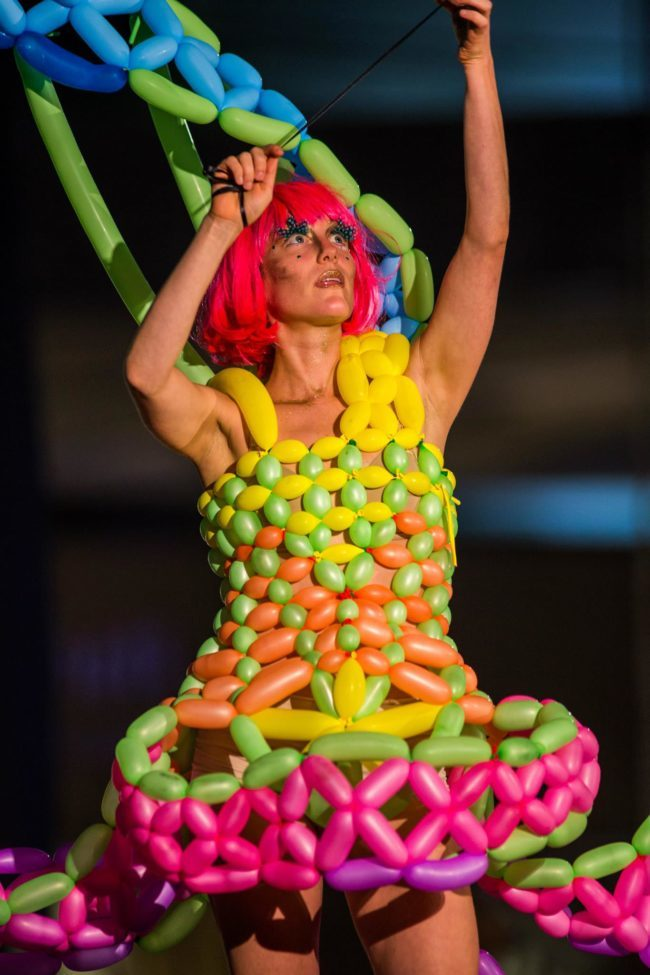Toni | Balloon Dress | Imagine Circus | Cirque | Raleigh, NC