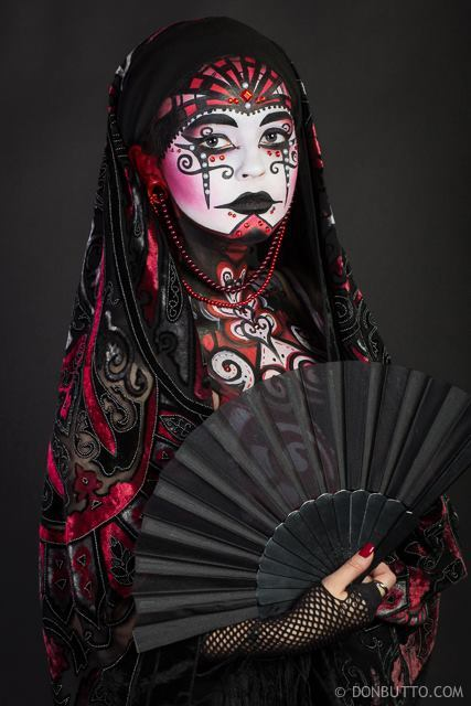 Molly | Body Painter | Body Paint | Tribal | Geisha | Imagine Circus | Cirque | Raleigh, NC