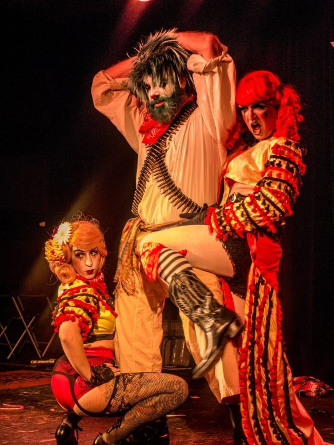Thunder | Robin | Clown | Mime | Makeup | Performance Trio | Imagine Circus | Cirque | Raleigh, NC