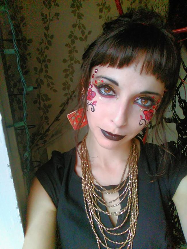 Molly | Face Paint | Face Painter | Makeup | Fantasy | Performer | Imagine Circus | Cirque | Raleigh, NC