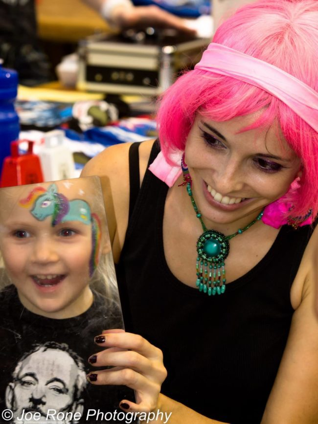 Molly | Face Paint | Face Painter | Makeup | Fantasy | Children's Events | Imagine Circus | Cirque | Raleigh, NC