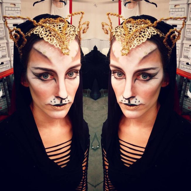 Toni | Cat Costume | Makeup | Imagine Circus | Cirque | Raleigh, NC