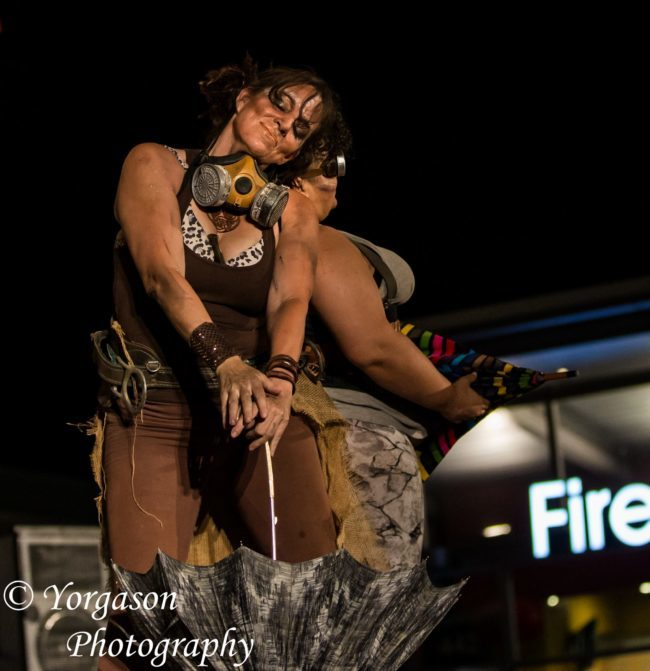 Caroleeena | Steampunk | Costumed Theme | Umbrella Dance | Performer | Imagine Circus | Cirque | Raleigh, NC