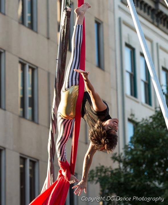 Morgan | Aerial Performance | Silks | Big Top Circus | Imagine Circus | Cirque | Raleigh, NC