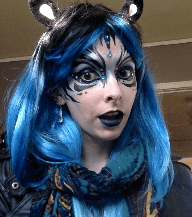 Molly | Face Paint | Makeup | Fantasy | Performer | Imagine Circus | Cirque | Raleigh, NC