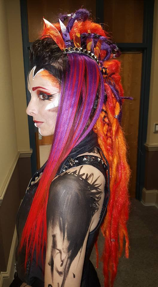Molly | Face Paint | Makeup | Fantasy | Tribal | Performer | Imagine Circus | Cirque | Raleigh, NC