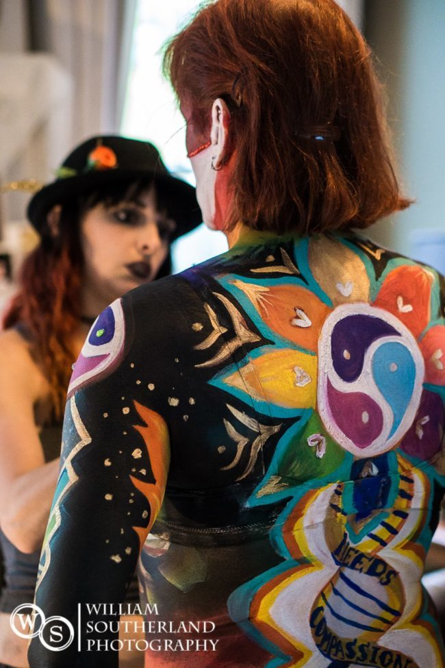 Molly | Body Painter | Body Paint | Fantasy | Imagine Circus | Cirque | Raleigh, NC