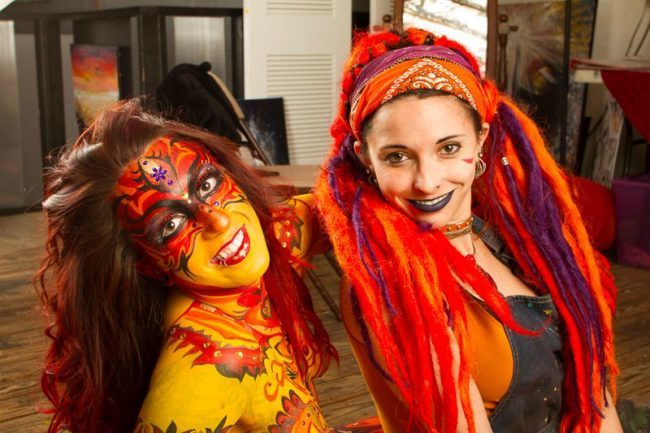Molly | Body Painter | Body Paint | Fantasy | Tribal | Imagine Circus | Cirque | Raleigh, NC