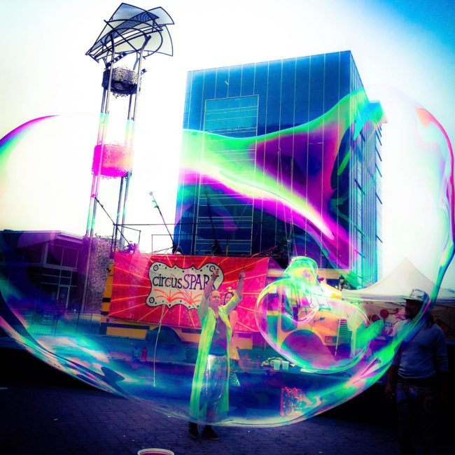 Joey | Bubble Artist | Bubble Maestro | Imagine Circus | Cirque | Raleigh, NC
