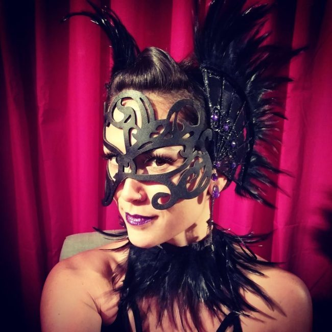 Mindy | Fantasy | Masquerade | Performer | Imagine Circus | Cirque | Raleigh, NC