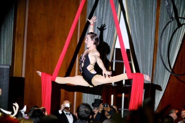 Brittany | Aerial Performance | Aerialist | Silks | Performer | Imagine Circus | Cirque | Raleigh, NC