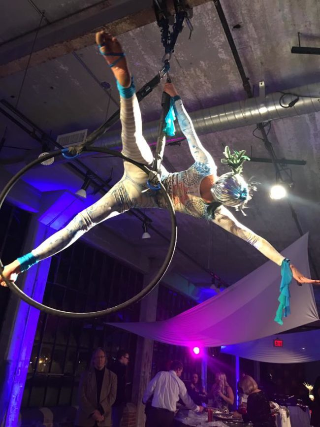 Kaci | Modern Cirque | Makeup | Mermaids | Aerial Performance | Lyra Performer | Imagine Circus | Cirque | Raleigh, NC
