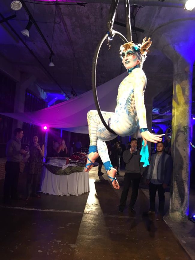 Katie | Modern Cirque | Makeup | Mermaids | Aerial Performance | Lyra Performer | Imagine Circus | Cirque | Raleigh, NC
