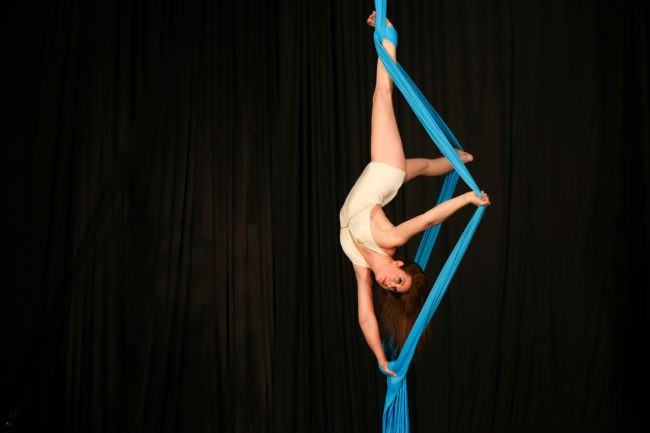 Katie R | Aerial Performer | Silks Performance | Imagine Circus | Cirque | Raleigh, NC