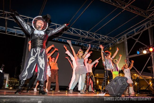 Thunder | Ringmaster | Metallic | Futuristic | Group Dance | Performer | SPARKcon | Imagine Circus | Cirque | Raleigh, NC