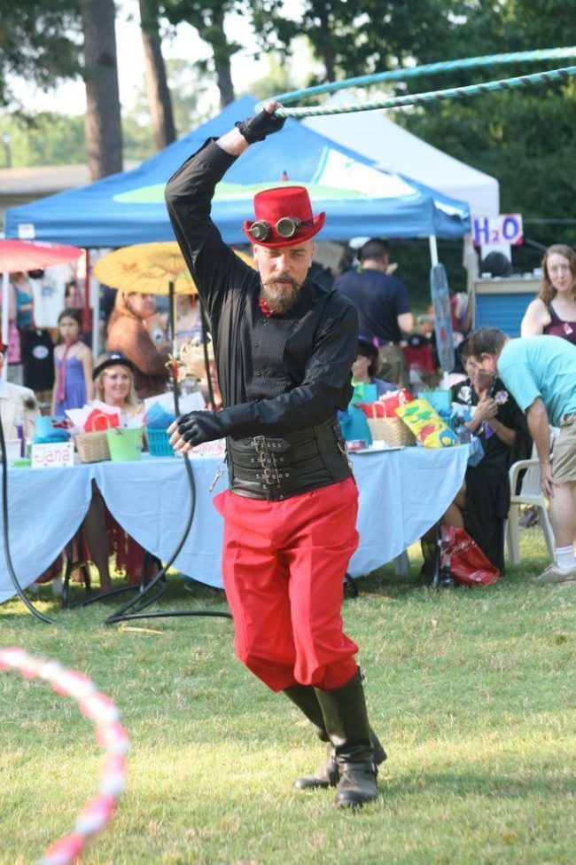 Thunder | Steampunk | Ringmaster | Performer | Imagine Circus | Cirque | Raleigh, NC