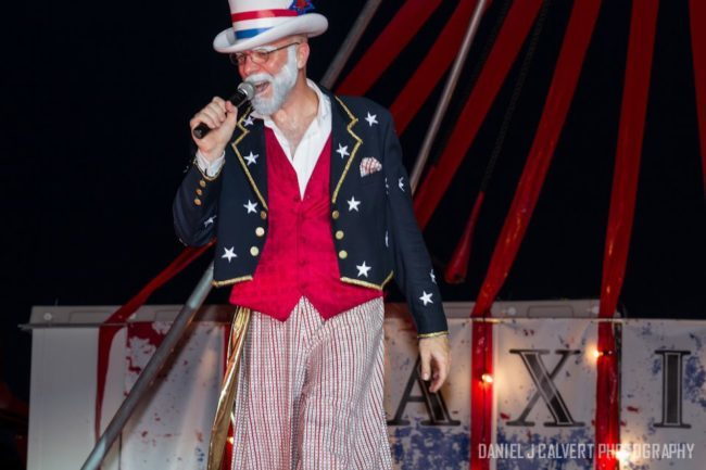Thunder | Patriotic | Ringmaster | Performer | Imagine Circus | Cirque | Raleigh, NC