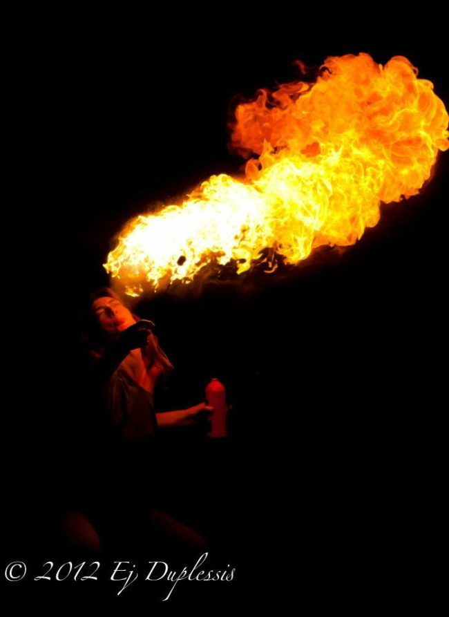 Lacy | Side Show | Fire Breather | Fire Breathing | Fire Performer | Imagine Circus | Cirque | Raleigh, NC