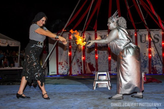 Patriotic Holidays | 4th of July Entertainment | Fire Performance | Fans | Lady Liberty | Living Statue | Betty | Caroleeena | Imagine Circus | Cirque | Raleigh, NC