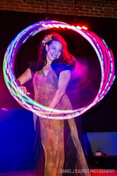 Caroleeena | Hoop Dancer | Hula Hoop | LED Hooper | Performer | Imagine Circus | Cirque | Raleigh, NC