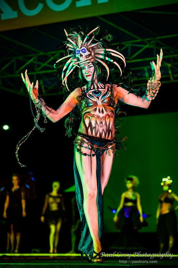 Live Body Painting Body Paint Models Living Statue
