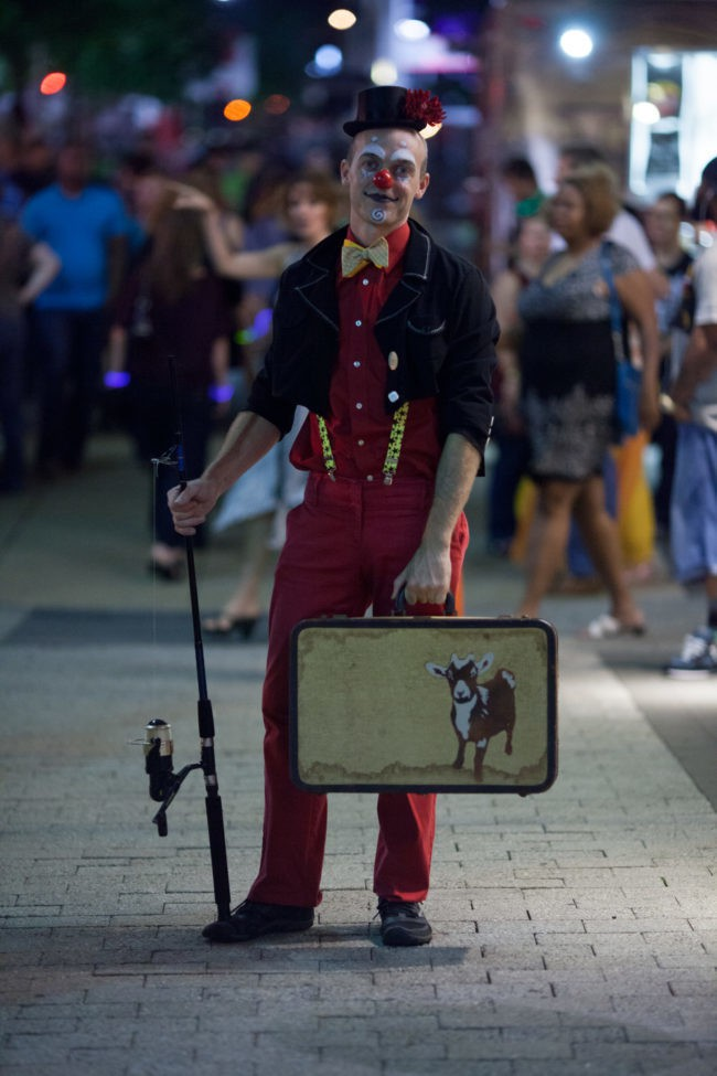 Adam | Big Top Circus | Clown | Mime | Performer | Imagine Circus | Cirque | Raleigh, NC