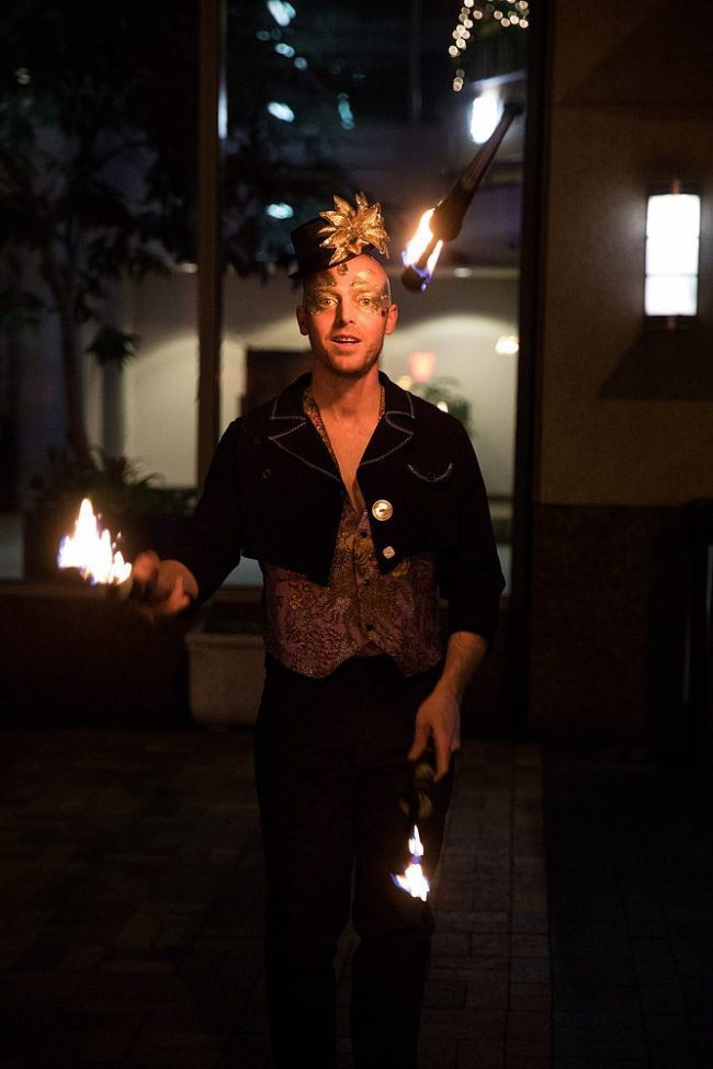 Adam | Masquerade | Fire Performance | Juggler | Juggling | Imagine Circus | Cirque | Raleigh, NC