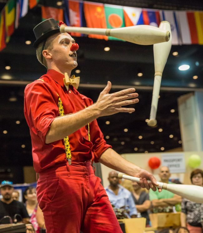 Adam | Big Top | Juggler | Clown | Juggling | Imagine Circus | Cirque | Raleigh, NC