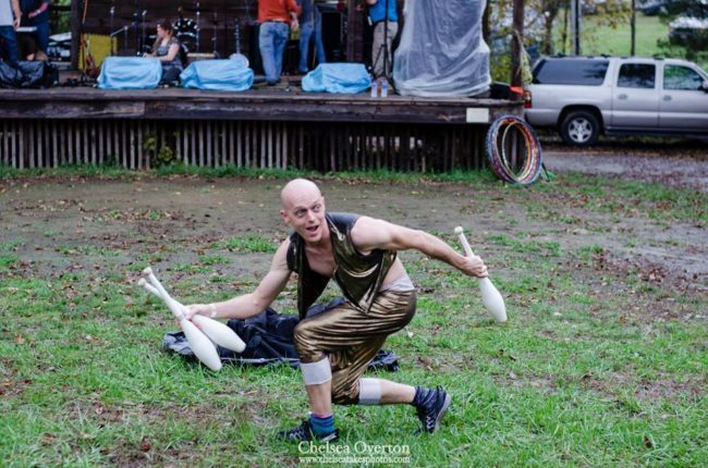 Adam | Juggler | Juggling | Festival Performer | Imagine Circus | Cirque | Raleigh, NC