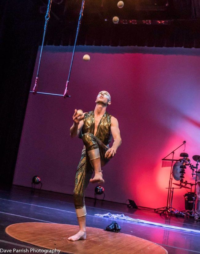 Adam | Light Pours In | Juggler | Juggling | Imagine Circus | Cirque | Raleigh, NC