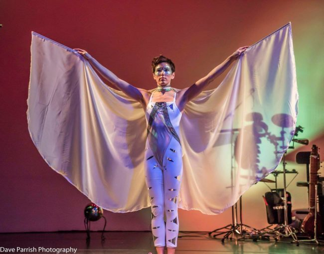 Winged Dancer | White Wings | Performer | Imagine Circus | Cirque | Raleigh, NC