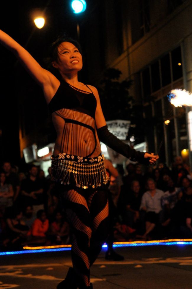 Asyia | Belly Dancer | Modern Belly Dancing | Fire Dancer | Performer | Imagine Circus | Cirque | Raleigh, NC