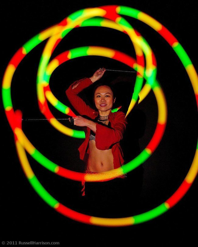 Asyia | LED Performance | Poi | Imagine Circus | Cirque | Raleigh, NC